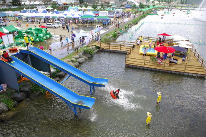 Festival del Agua Jeongnamjin de Jangheung (정남진장흥물축제)2