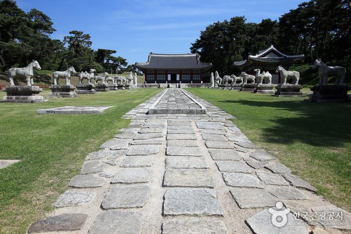 Hongneung / Yureung (Hongyureung) [UNESCO Weltkulturerbe] (남양주 홍릉과 유릉 [유네스코 세계문화유산])