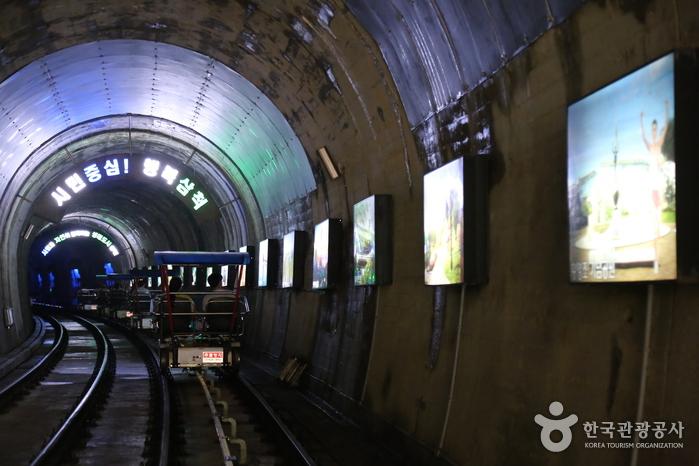 터널 내 삼척대표관광지 사진