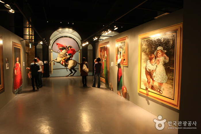 Trick Art Museum Korea Jeju Seongeup Branch ͊�릭아트 ˮ�지엄
