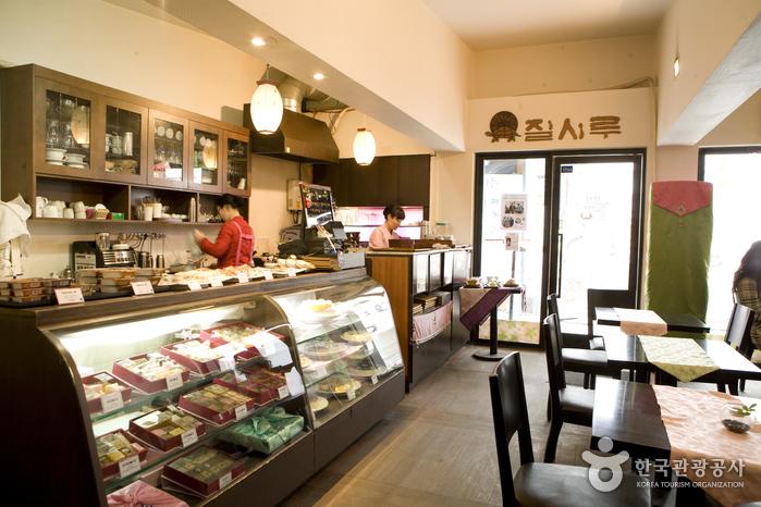 餅カフェ ジルシル(떡카페 질시루)