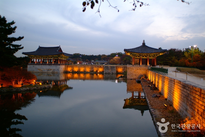 Gyeongju Donggung Palace and Wolji Pond (경주 동궁과 월지)