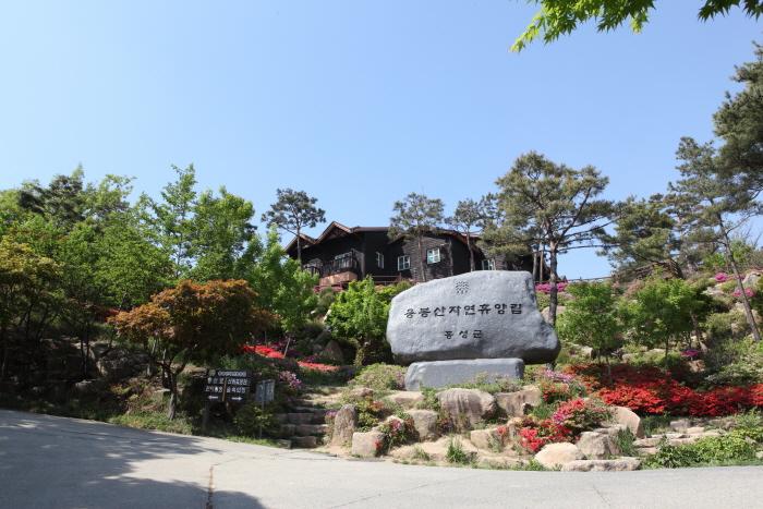 홍성 용봉산자연휴양림 입구