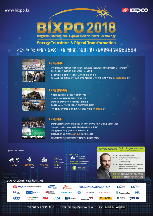BIXPO 국제 신기술 컨퍼런스 2018