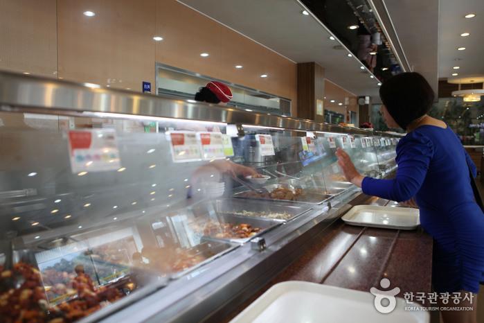 칠곡휴게소(부산)의 자율식당