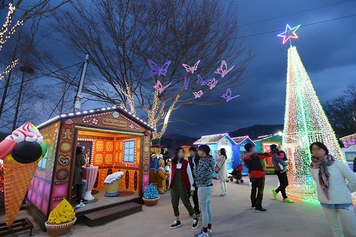 청도프로방스 별빛동화마을 빛축제 2017 사진3