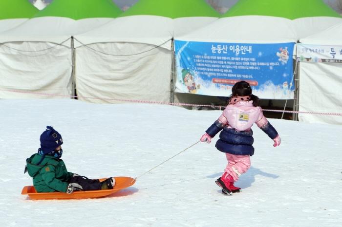 신나는 왕송호수 겨울축제 겨울아 놀자 2018  사진5