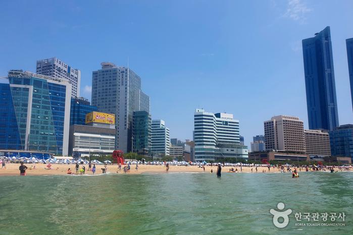 Пляж Хэундэ (해운대 해수욕장)7