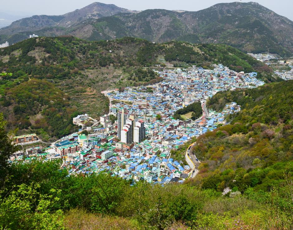 Aldea Cultural Gamcheon de Busan (부산 감천문화마을)