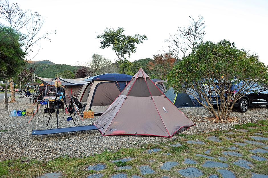 고성잔디캠핑장