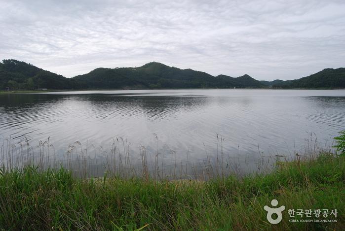 Озеро Хвачжинпхо (화진포)19