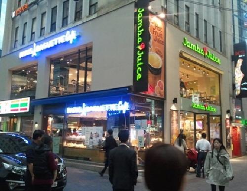 Paris Baguette cafe 明洞广场店<br>(파리바게뜨 카페명동광장점)
