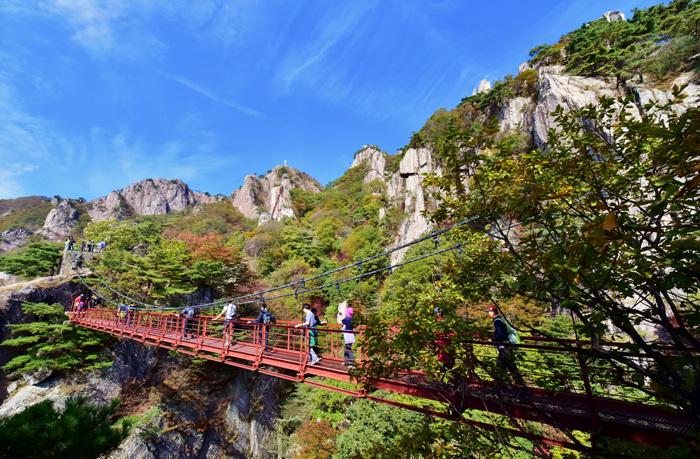 Daedunsan Provincial Park (Nonsan) (대둔산도립공원 - 논산)