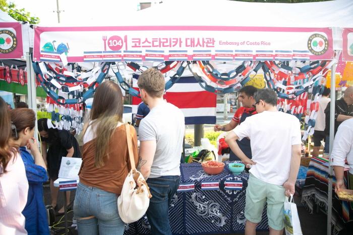 Seongbuk Internationales Essensfestival Nurimasil (성북 문화다양성축제 누리마실)
