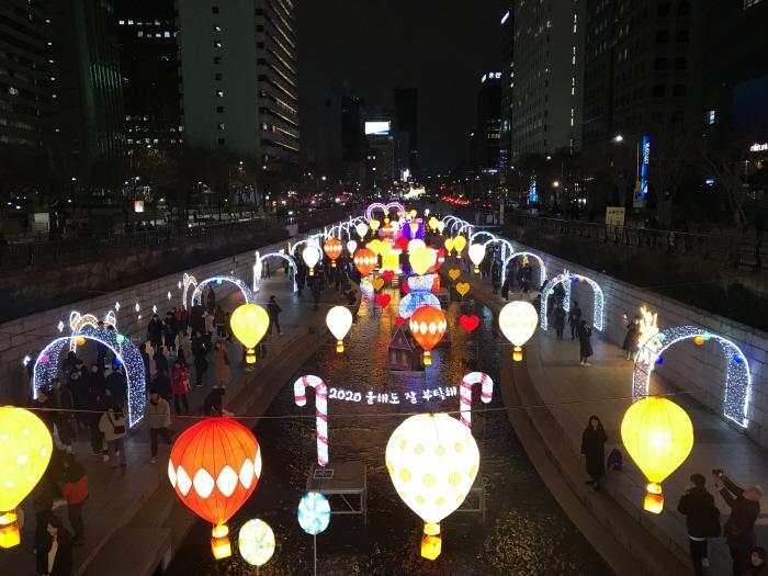 Рождественский фестиваль в Сеуле (서울 크리스마스 페스티벌)4