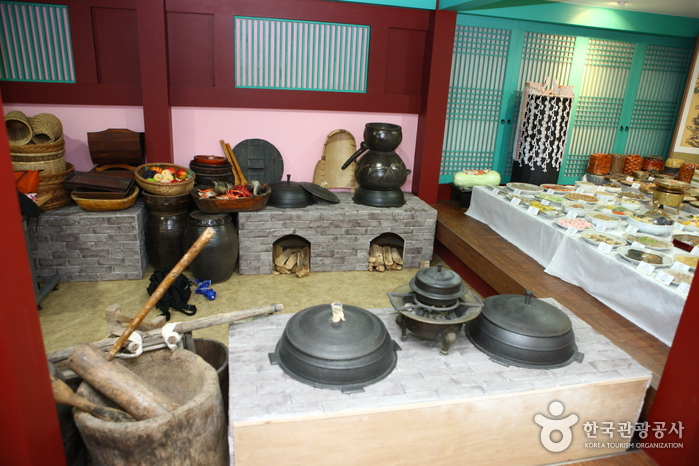 Royal Court Food Cooking Experience at the National Palace Museum of Korea (   )
