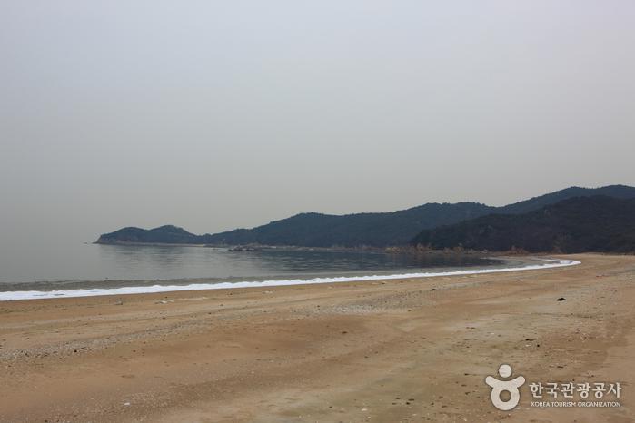 Пляж Ханаге (하나개해수욕장)8