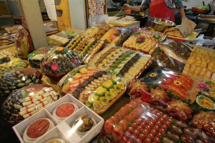 경주 성동시장 폐백음식가게