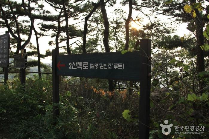 [북악하늘길 2산책로] 하늘교~성북천발원지