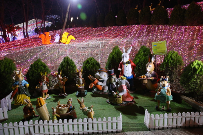 청도프로방스 별빛동화마을 빛축제 2017 사진2