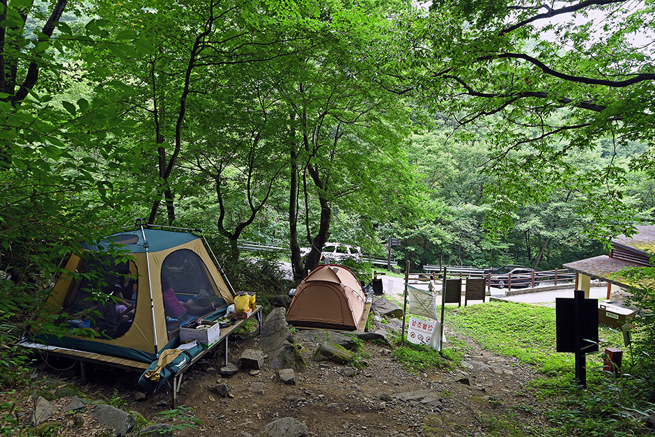 국립지리산자연휴양림캠핑장
