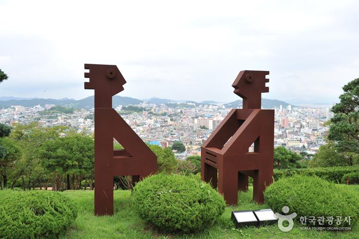 유달산 조각공원