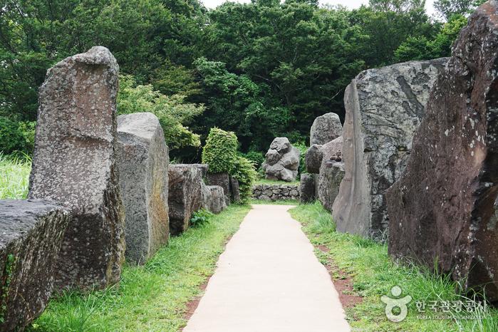 Парк камней Чечжу  (제주돌문화공원)
