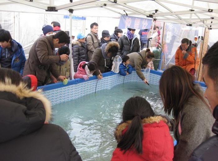 청평설빙송어빙어축제 2018