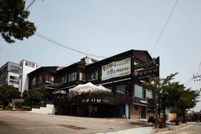 Calle Anygol de Pung-dong (풍동 애니골)