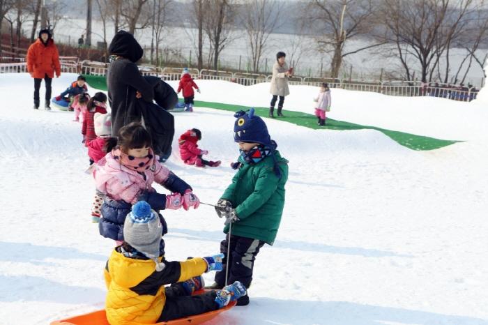 신나는 왕송호수 겨울축제 겨울아 놀자 2018  사진6