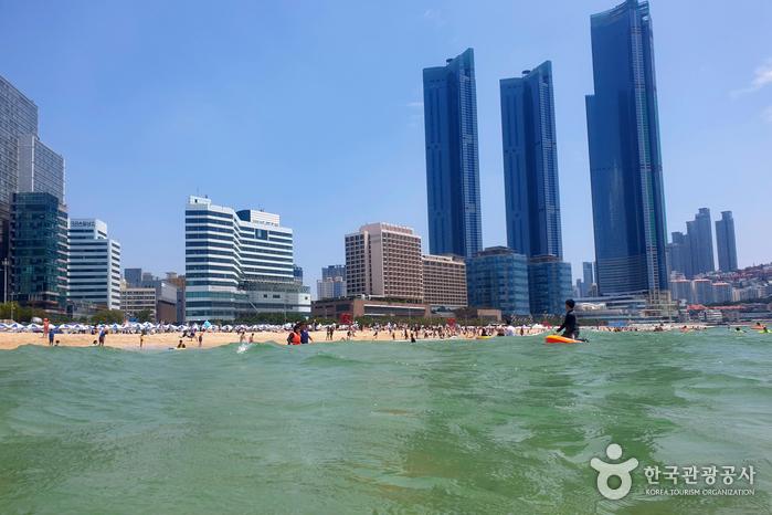 Пляж Хэундэ (해운대 해수욕장)4
