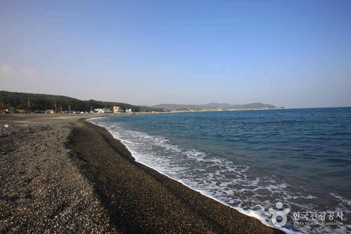 朱田鵝卵石海邊(주전몽돌해변)2