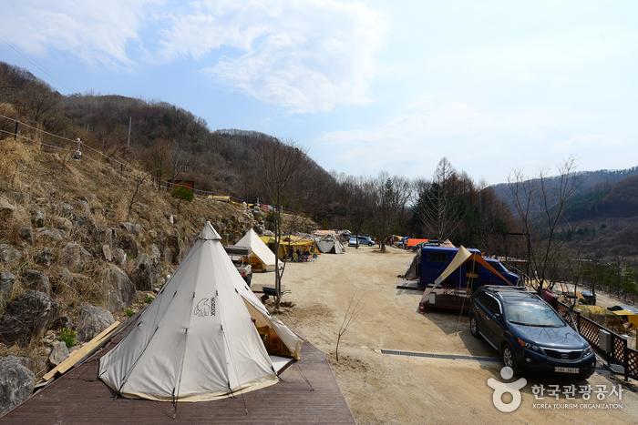 토토큰바위캠핑장