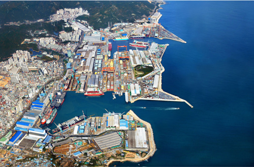 Hyundai Heavy Industries Ulsan Factory (현대중공업 울산공장)