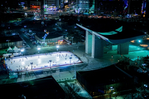 Olympic Park Ice Skating Rink (올림픽공원 스케이트장)