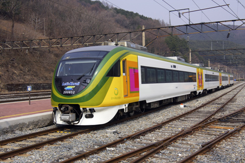 Central Inland Region Tourist Train (O-Train) (중부내륙순환열차 (O-트레인))