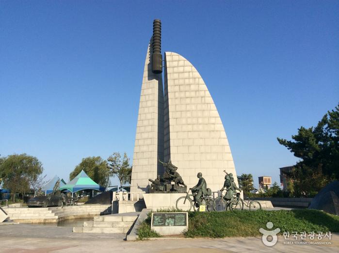 진포대첩 기념탑