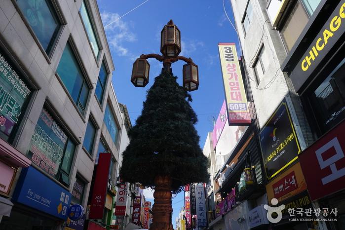 Calles de Myeong-dong de Chuncheon (춘천명동거리)7
