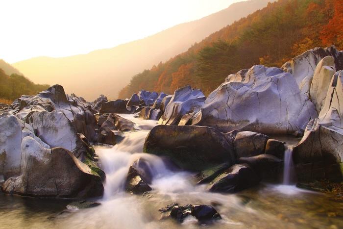 백석탄계곡 사진1