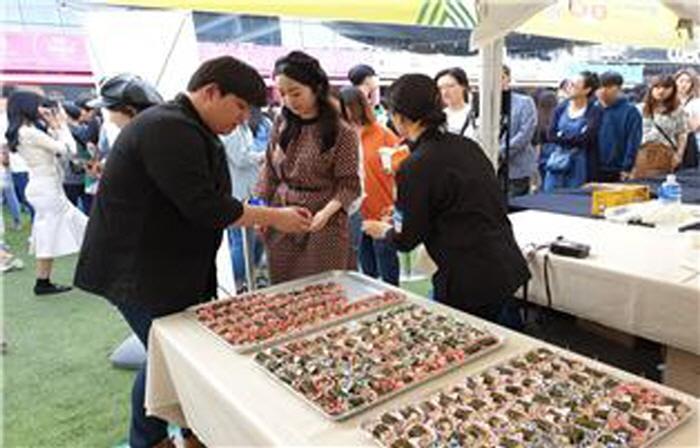 강릉 소금강산채마을 산채푸드페스티벌 2019