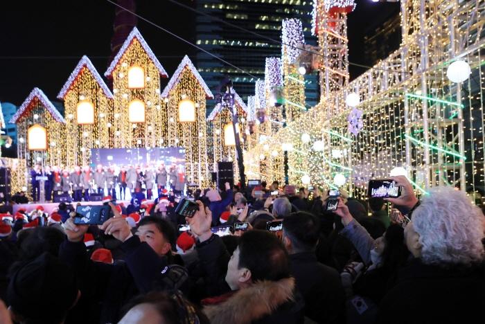 Рождественский фестиваль в Сеуле (서울 크리스마스 페스티벌)5
