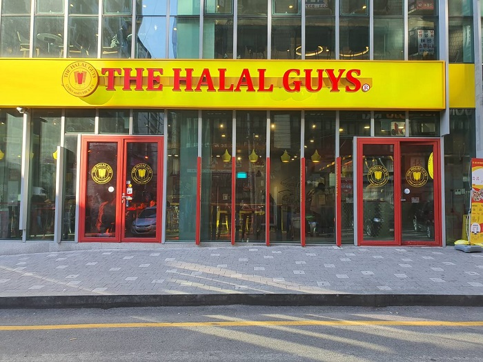 THE HALAL GUYS - Gangnam Branch (할랄가이즈 강남)
