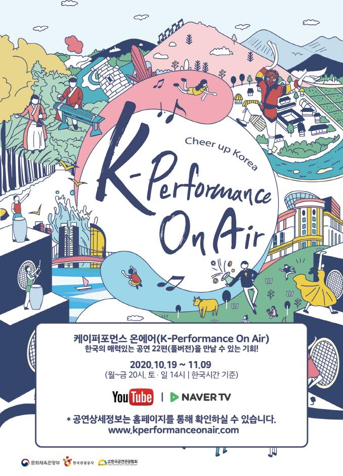 공연관광 온라인 쇼케이스 < K-Performance On Air > 2020