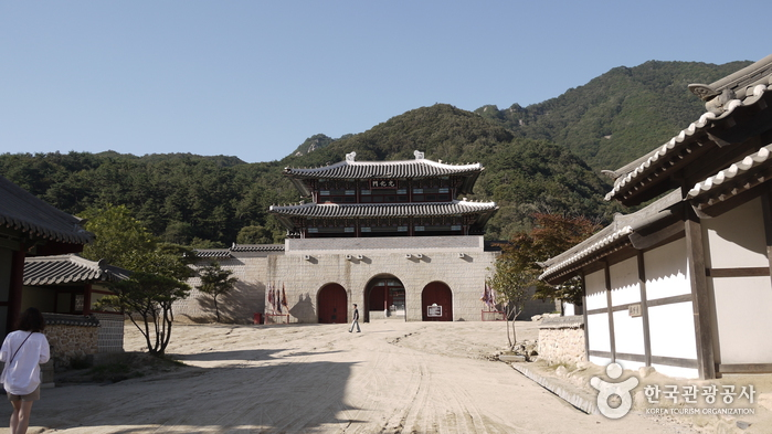 Lieu de tournage ouvert à Mungyeong Saejae (문경새재 오픈세트장)