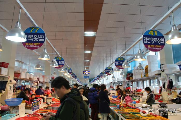 삼천포용궁수산시장