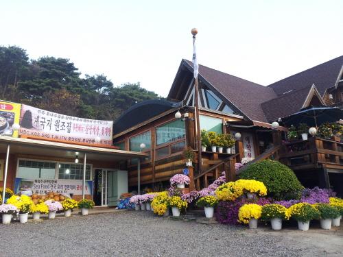 딴뚝통나무집식당 사진2