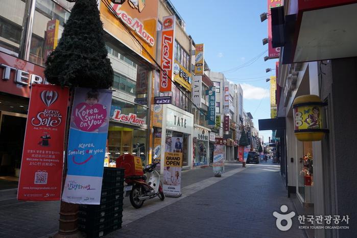 Calles de Myeong-dong de Chuncheon (춘천명동거리)6