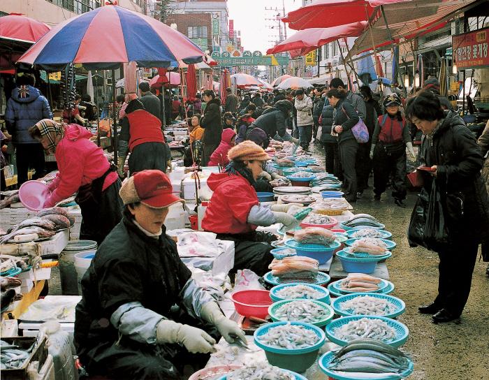 Gijang-Markt (부산 기장시장)