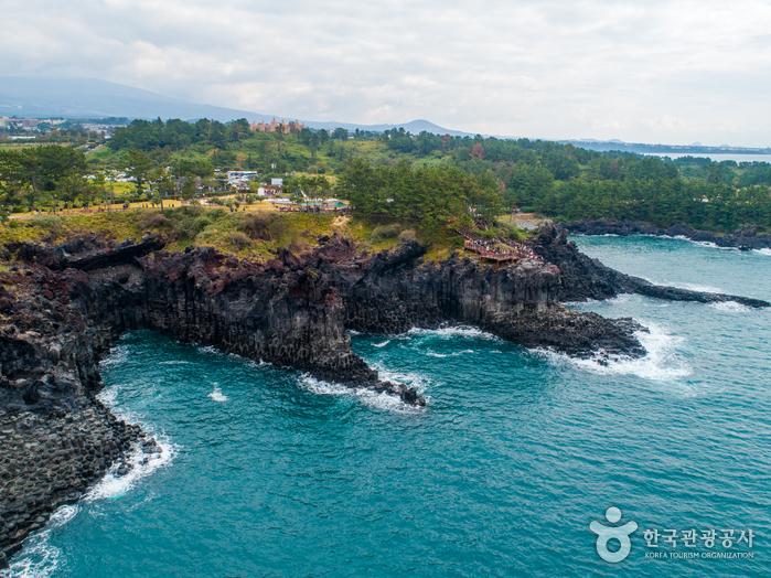 Скалы Чусан Чолли у побережья Чунмун Дэпхо20