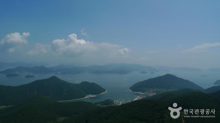 Hallyeosudo Viewing Ropeway (한려수도 조망케이블카)